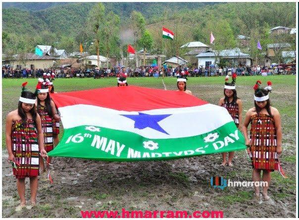 Hmar Martyrs' Day May 16 2014